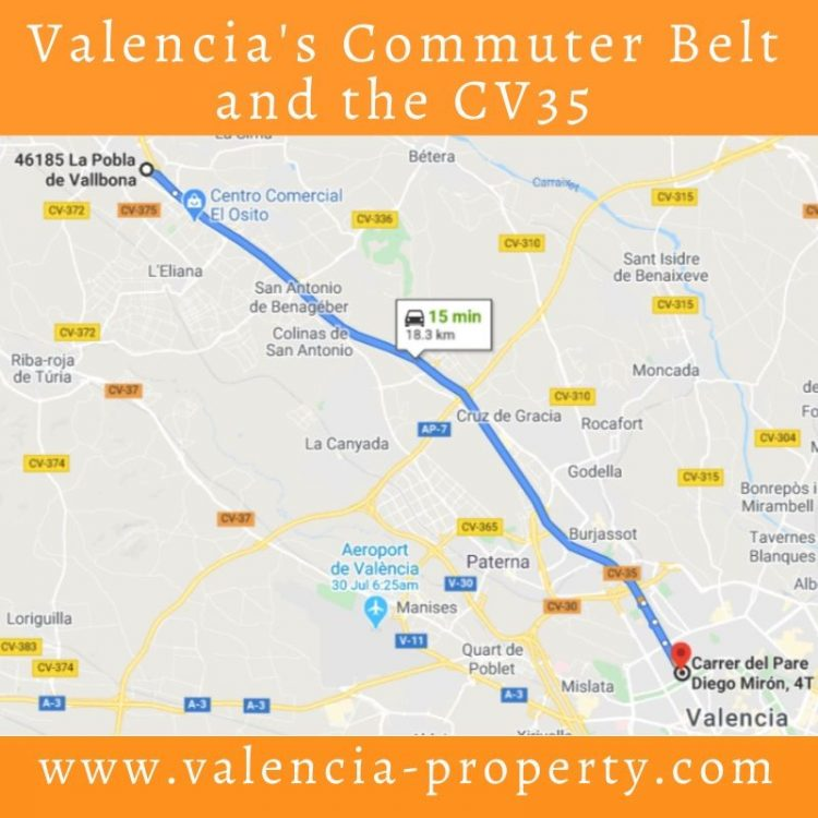 Valencia's Commuter Belt and the CV35