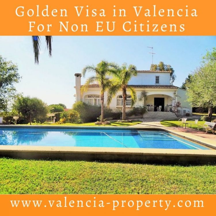 Golden Visa in Valencia For Non EU Citizens