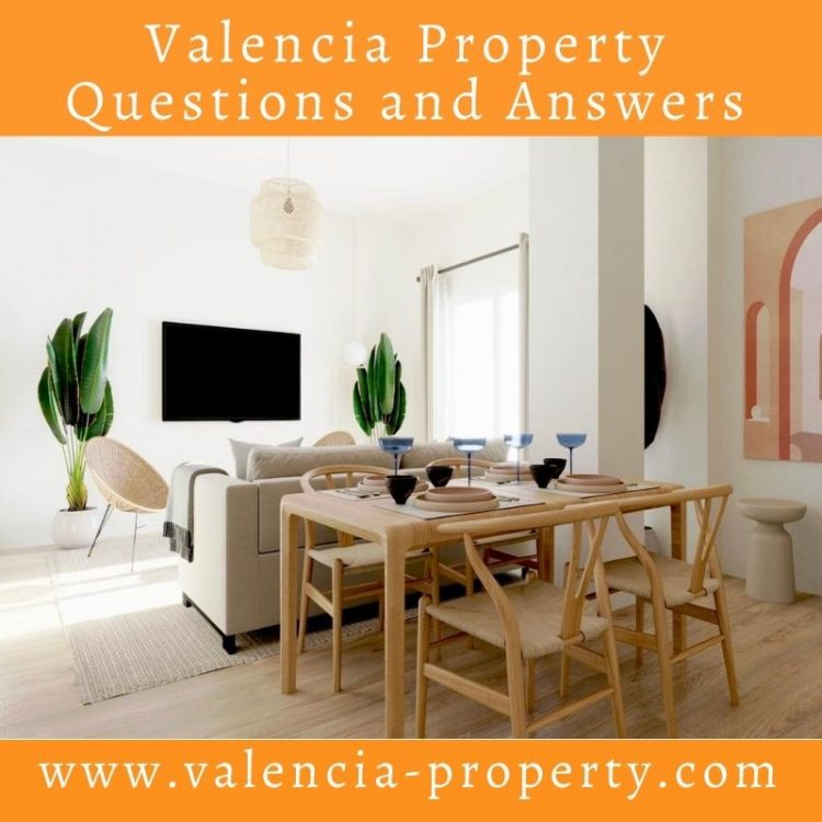 Valencia Property Questions and Answers