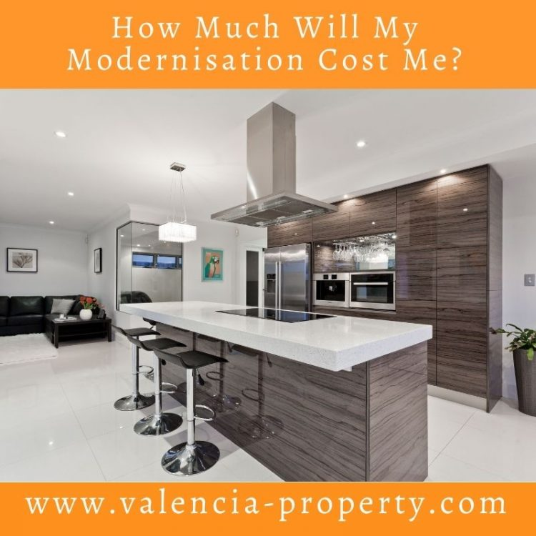 How Much Will My Modernisation Cost Me?