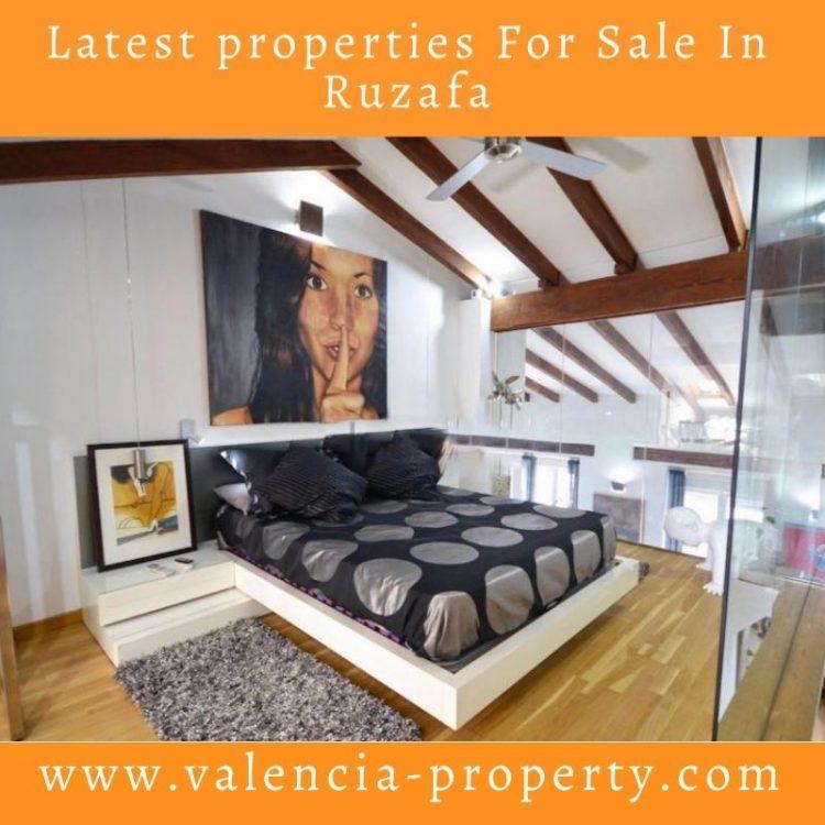 Latest Properties For Sale In Ruzafa