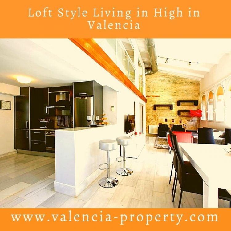 Loft Style Living High in Valencia