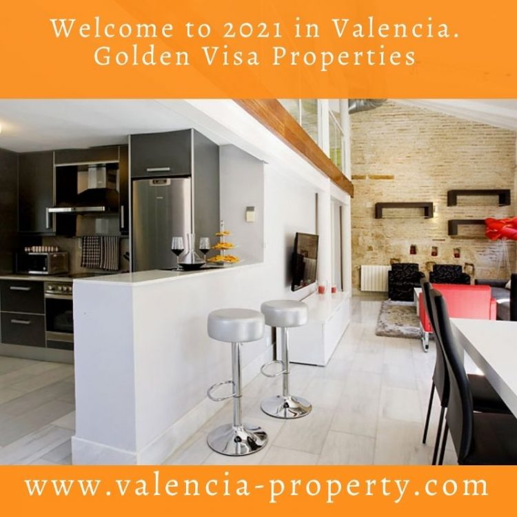 Welcome to 2021 in Valencia. Golden Visa Properties