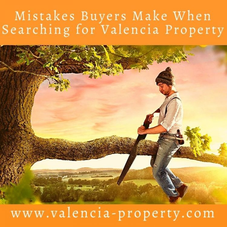The Biggest Mistakes Buyers Make When Looking For Valencia Property