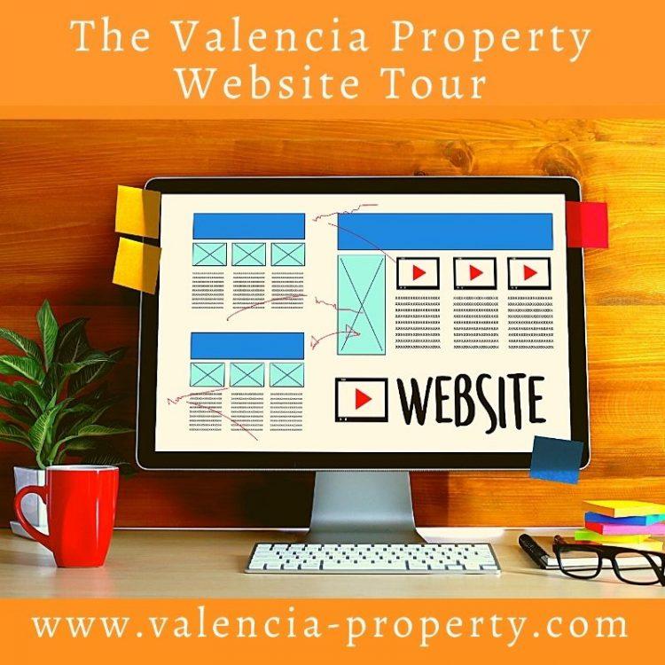 The Valencia Property Website Tour