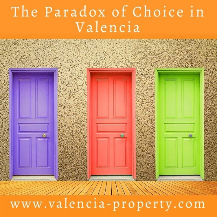 The Paradox of Choice in Valencia